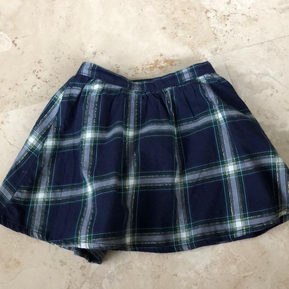 0f63ea8723 Gymboree Bottoms | Girls Blue And Gold Plaid Skirt | Poshmark